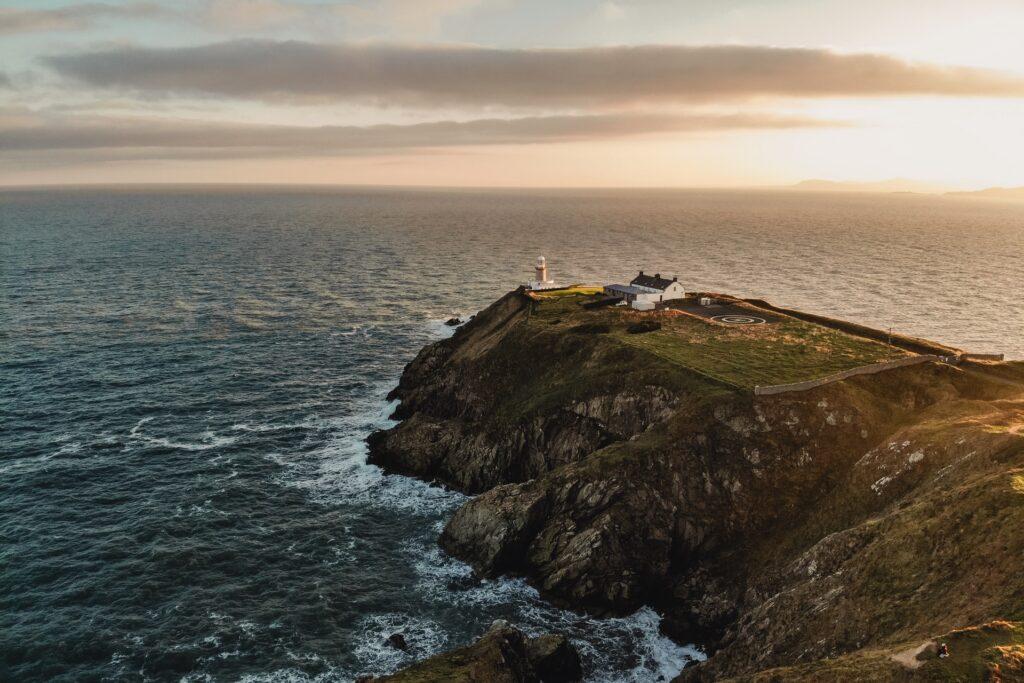 Howth Beacon, Howth peninsula